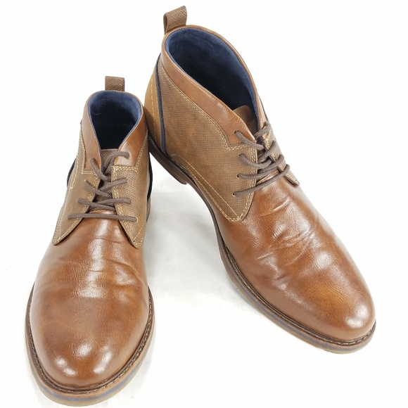 daf2df7baf65f FREEMAN 1921 Brent Mens Chukka Ankle Boots Shoes